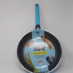 Tasty Non Stick Fry Pan 11 Inch Stay Cool Silicone